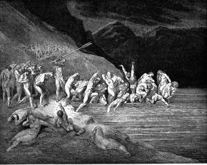 Пеколот - во чамецот на Ахерон